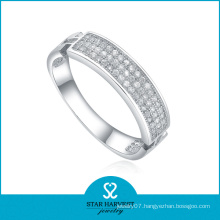 Micro Pave CZ Silver Rings Wholesale (R-0017)